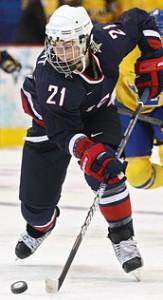 Hilary Knight Olympics Hockey 2010 Vancouver