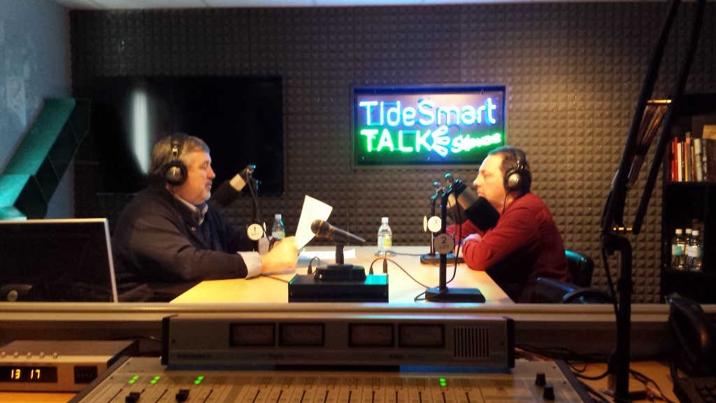Host of TideSmart Talk with Stevoe, Steve Woods, recently welcomed Whales and Nails creator Dan DenDanto (right).
